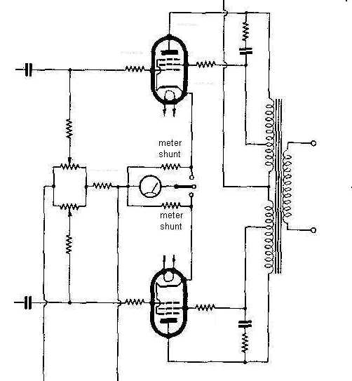ultra linear tube schematic